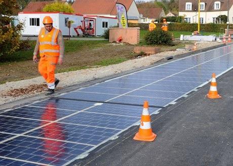پیادهروی خیابانها به زودی با پنل خورشیدی پوشانده میشود