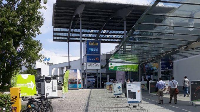 حضور گروه فناوران ایرمان انرژی در نمایشگاه اینتر سولار آلمان