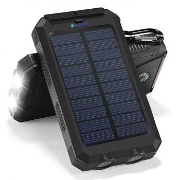 پاوربانک خورشیدی HINSENT 30000