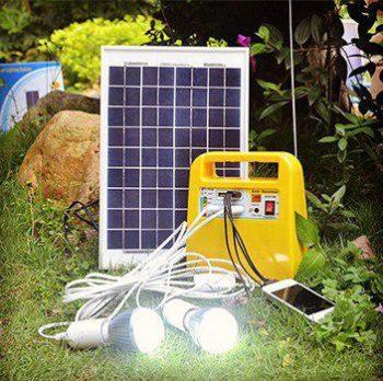 پکیج خورشیدی همراه 10وات