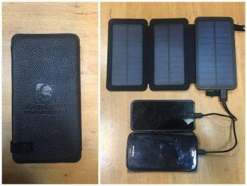 پاوربانک خورشیدی تاشو